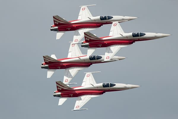 Patrouille Suisse Pilots Safe After Mid-Air Collision And Crash In The Netherlands
