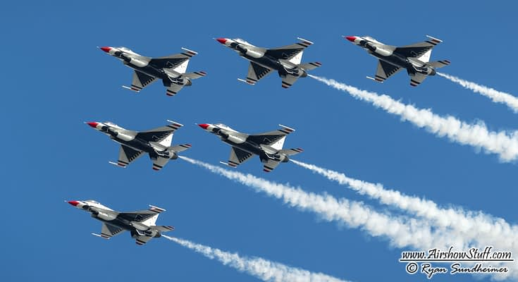 USAF Thunderbirds 2019 Airshow Schedule Released