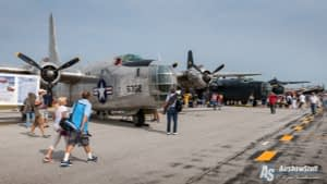 PB4Y-2 Privateers - Thunder Over Michigan 2015