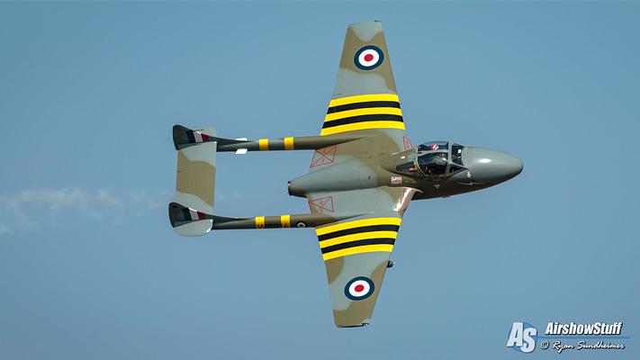 Rare British Jet Warbirds Expected At EAA AirVenture Oshkosh 2018
