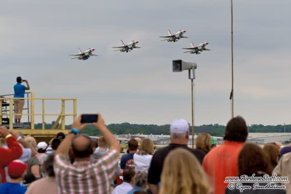 Rockford AirFest Suspended In 2017 And Beyond Despite Scheduled USAF Thunderbirds Appearance