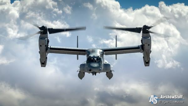 USMC MV-22 Osprey - AirshowStuff
