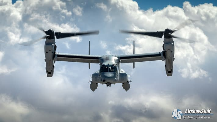 2020 USMC MV-22 Osprey Demonstrations Schedule Released