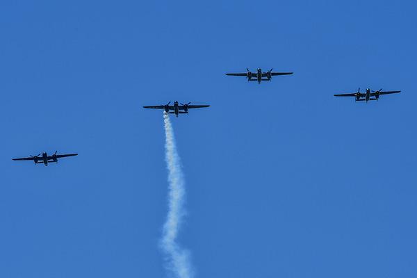B-25 Mitchells - Doolittle Raid 75th Anniversary - Dayton, OH