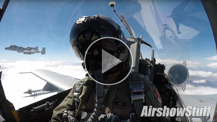 WATCH: The Best Of Military Aviation – September 2017