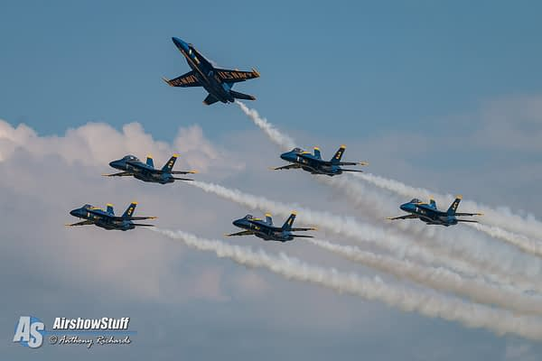 Here's When And Where You Can See The Final Blue Angels Flight in Legacy Hornets