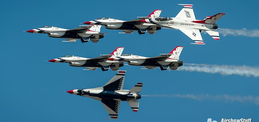 Thunderbirds To Honor Healthcare Workers With Hospital Flyovers This Weekend