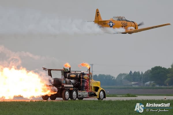Shockwave Jet Truck - Quad Cities Air Show 2015 - David Jacobson