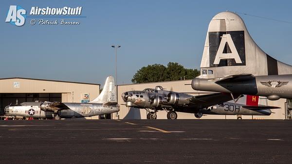 B-17, B-29, PB4Y-2 - Heavy Bombers Weekend 2015