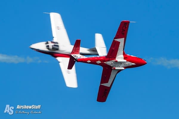 Royal Canadian Air Force Snowbirds - AirshowStuff