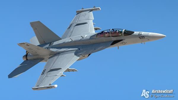 US Navy EA-18G Growler Demonstration Team - AirshowStuff
