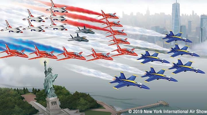 Massive Multi-Team Photo Flight Planned For New York City, Statue Of Liberty Thursday