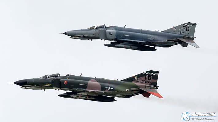 QF-4 Phantoms To Perform Flyover At Sunday's NASCAR Race in Texas