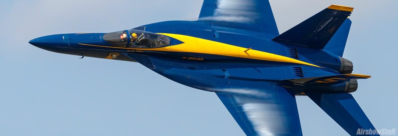 US Navy Blue Angels Banner - AirshowStuff