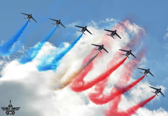 Patrouille de France 2017 North American Tour Extended; Canadian Show Added