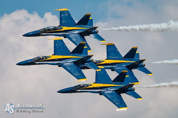 Blue Angels 2017 Season About to End