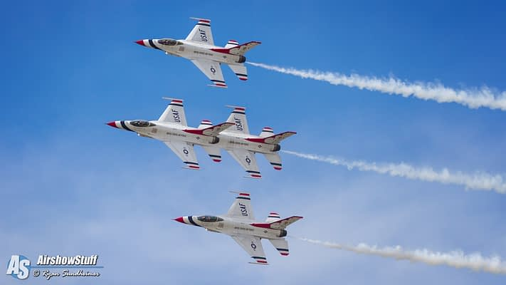 USAF Thunderbirds 2017 Airshow Schedule Released