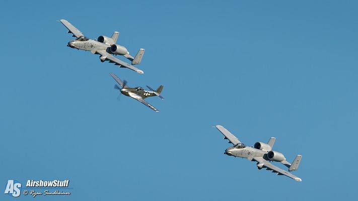 Rare USAF Heritage Flight Formation To Perform Super Bowl LII Flyover
