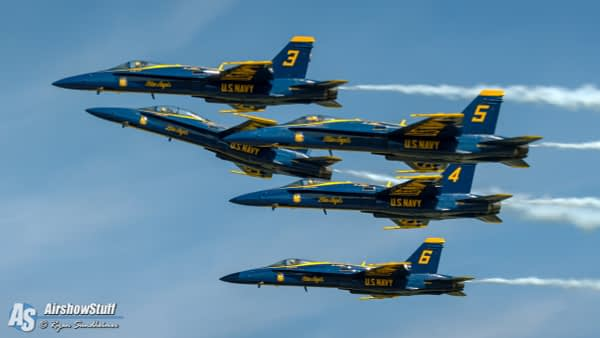 US Navy Blue Angels - AirshowStuff