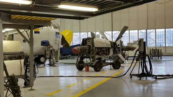 C-130 Fat Albert Maintenance Overhaul