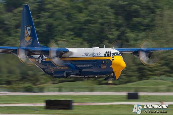 US Navy Blue Angels - Fat Albert - Spirit of St Louis Airshow 2016