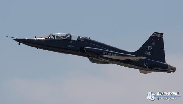 T-38 Talon at Northern Lightning 2020 - AirshowStuff