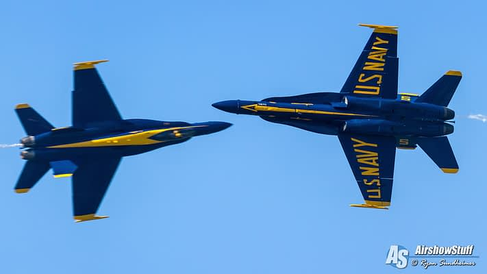 US Navy Blue Angels 2020 Preliminary Airshow Schedule Released