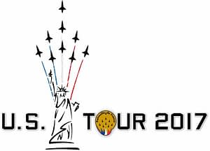 Patrouille de France North American Tour Logo