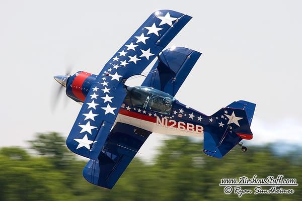 Billy Werth Pitts Biplane - AirshowStuff