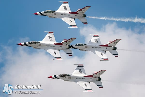 USAF Thunderbirds Preliminary 2022 Airshow Schedule Released