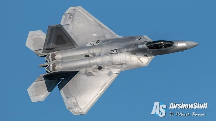 2016 USAF F-22 Raptor Demo Team Schedule Released