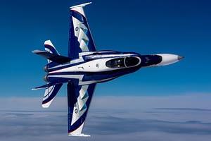 2018 CF-18 Hornet Demonstration Team - NORAD Paint Scheme