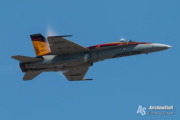 Canadian Forces CF-18 Hornet Demonstration Team