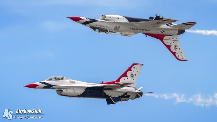 US Air Force Thunderbirds To Perform At RIAT In 2017