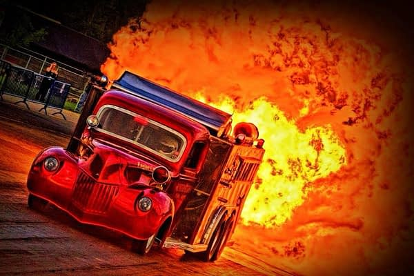 AFTERSHOCK JET FIRE TRUCK
