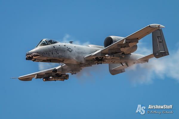 A-10 Thunderbolt II Warthog Strafe - Hawgsmoke 2016