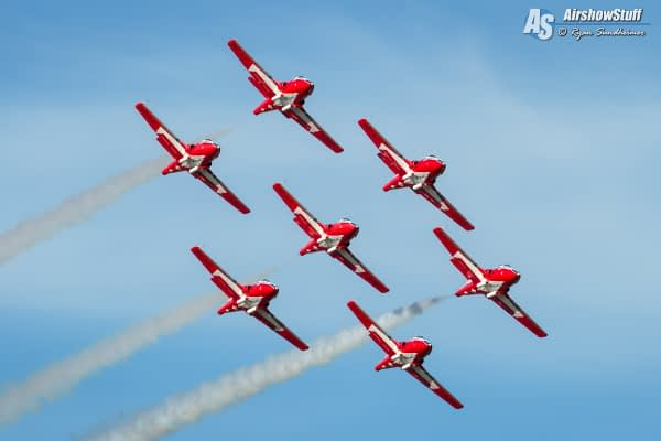 Canadian Snowbirds Resume Full Operations; 2020 Performances Delayed Until June