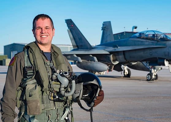 New 2020 Canadian Forces CF-18 Hornet Demonstration Team Pilot Announced