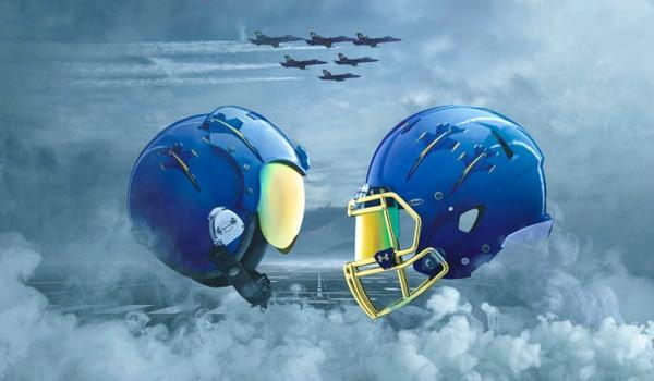 US Naval Academy Blue Angels Football Uniforms