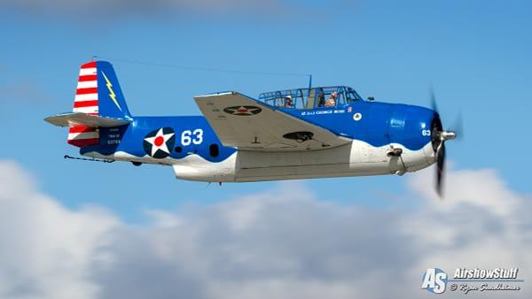 "TBM Avenger ""George Bush"" - AirshowStuff"
