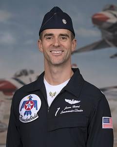 Thunderbird #1 Lt. Col. Jason Heard