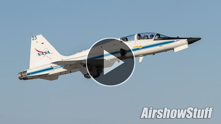 WATCH:  Rare Joint Flight Of NASA T-38 And NACA P-63 Honors Legacy Of Flight Testing