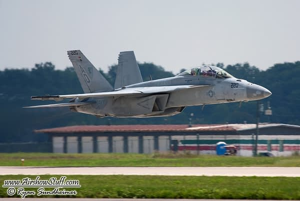 US Navy F/A-18F Super Hornet Demonstration Team