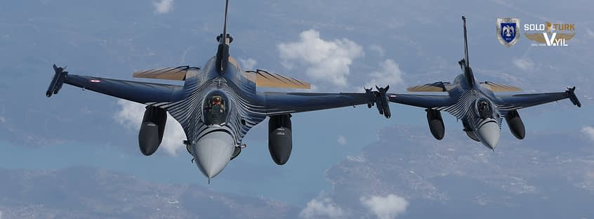 """""""SOLOTURK"""" Turkish F-16 Fighting Falcon Demo Scheduled For 2017 Canadian Airshow Appearance"""