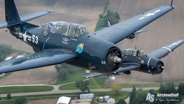 TBM Avengers Air To Air - AirshowStuff