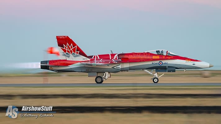 Canadian Forces CF-18 Hornet Demonstration Team 2018 Schedule Released
