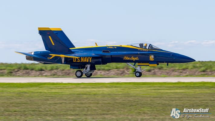 Blue Angels Cancel Performance After Pilot Falls Ill
