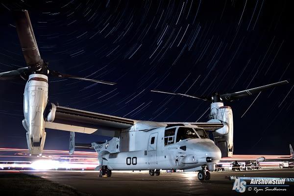 MV-22 Osprey - America's Freedom Fest 2018