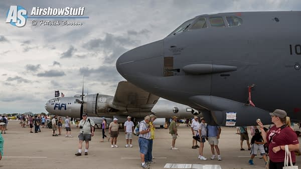 B-52 Stratofortress and B-29 Superfortress - EAA AirVenture Oshkosh 2015