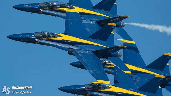 Blue Angels Rock Oshkosh, Discuss Super Hornet Transition Plans